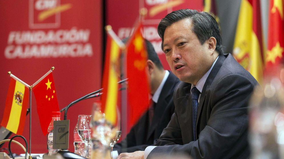 Foto: El embajador de China en España, Zhu Bangzao,