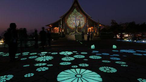 Templo de las luces fluorescentes