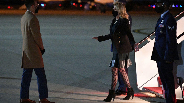 Jill y las medias de la discordia. (Reuters)