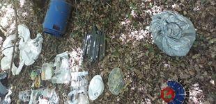 Post de Detenidos los tres responsables de un zulo de explosivos de ETA localizado en Álava en 2019