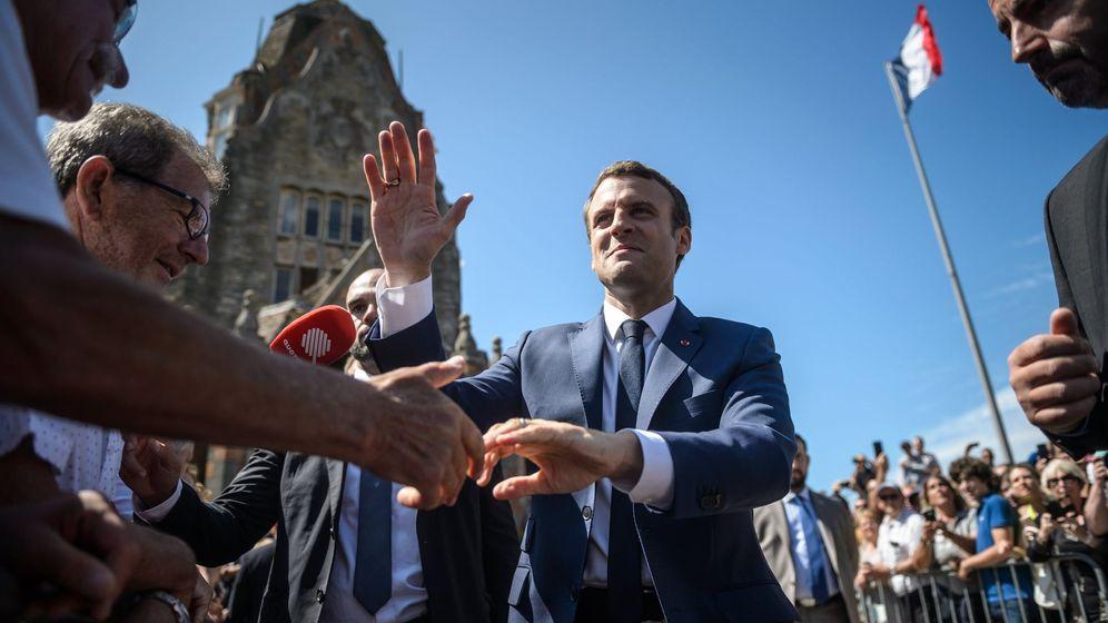 Foto: El presidente de Francia, Emmanuel Macron. (Reuters)