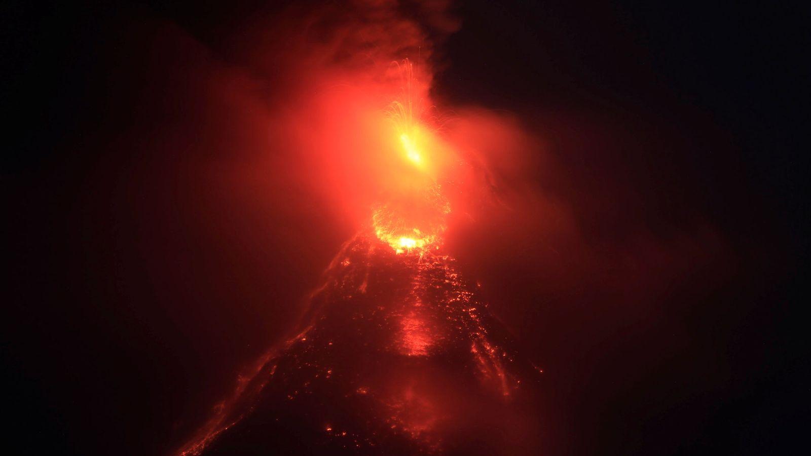 Foto: El Monte Mayón en Legazpi, Filipinas (Romeo Ranoco / Reuters)