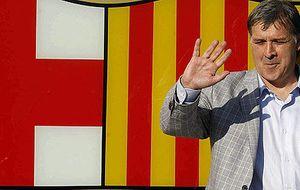 'Tata' ya está en Barcelona para tomar las riendas del equipo