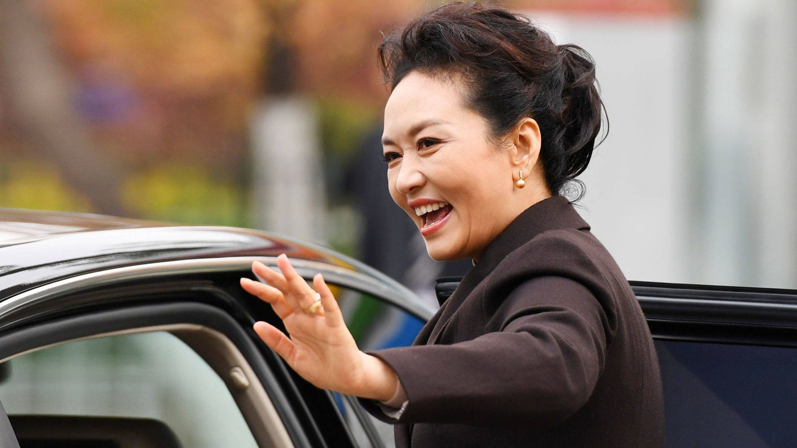 Foto: Peng Liyuan, en una imagen de archivo. (Reuters)