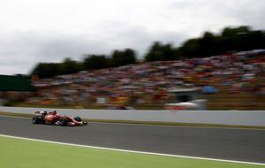 Cómo aguantar el golpe con una F1 sin interés y el bache de Ferrari