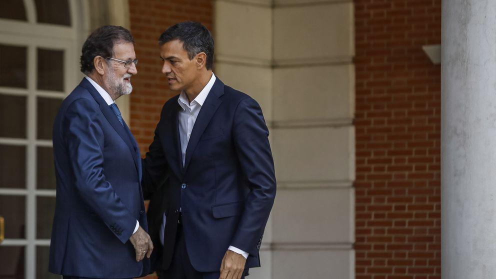 Rajoy abre con Sánchez la ronda de diálogo post 1-O