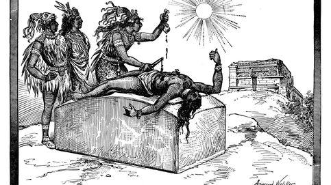 Pánico en Zultepec: las terribles aberraciones de los mal llamados Aztecas