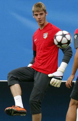 El Wigan quiere a De Gea, pero la directiva de Atlético frena la operación