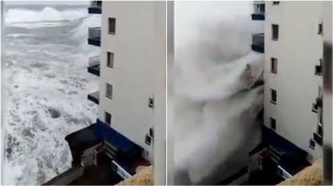 Temporal: un muerto, edificios arrasados y alerta roja en varias provincias