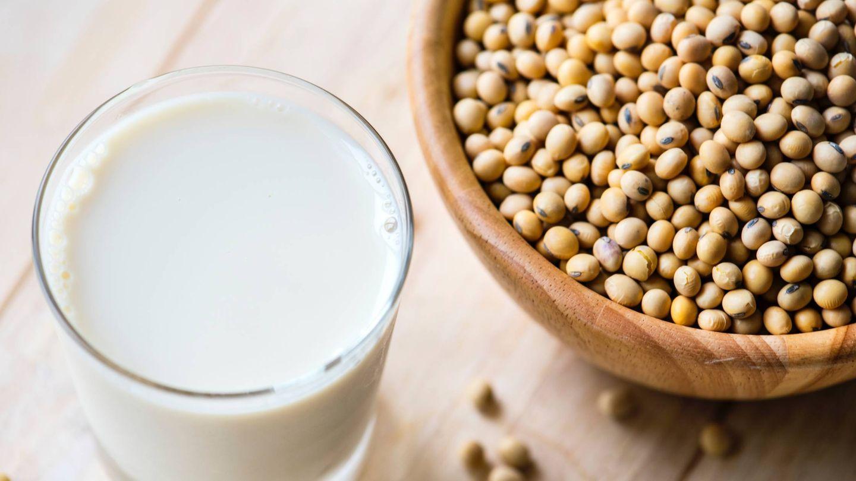 La soja es uno de los alimentos más comunes en dietas vegetarianas.