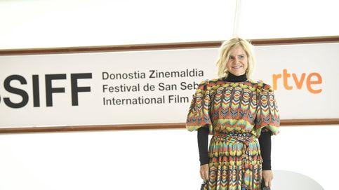 Eugenia Mtnez. de Irujo reinventa un vestido de Inés Domecq y triunfa en San Sebastián