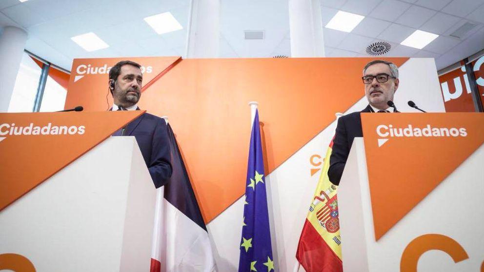 El partido de Macron y Cs negocian una plataforma para ir juntos a las europeas