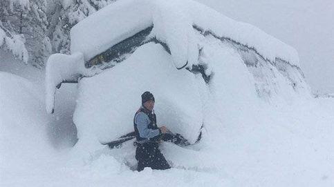 Evacuados los 43 niños cuyo autobús se quedó atrapado por la nieve