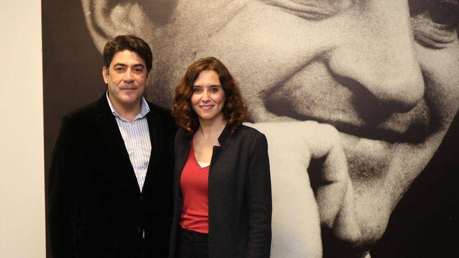 Foto: David Pérez e Isabel Díaz Ayuso