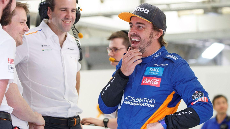 Fernando Alonso volverá a rodar este martes con el McLaren. (EFE)