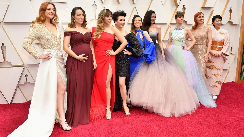 Gisela posa junto a las otras voces de 'Frozen'. (Getty)