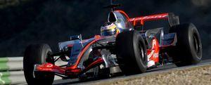 Kubica fue el más rápido en Jerez con la presencia de Schumacher y Hamilton