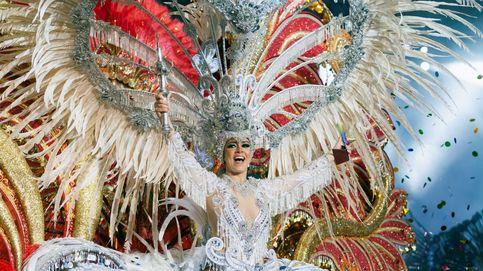 Esta es la reina de este año en el carnaval de Tenerife
