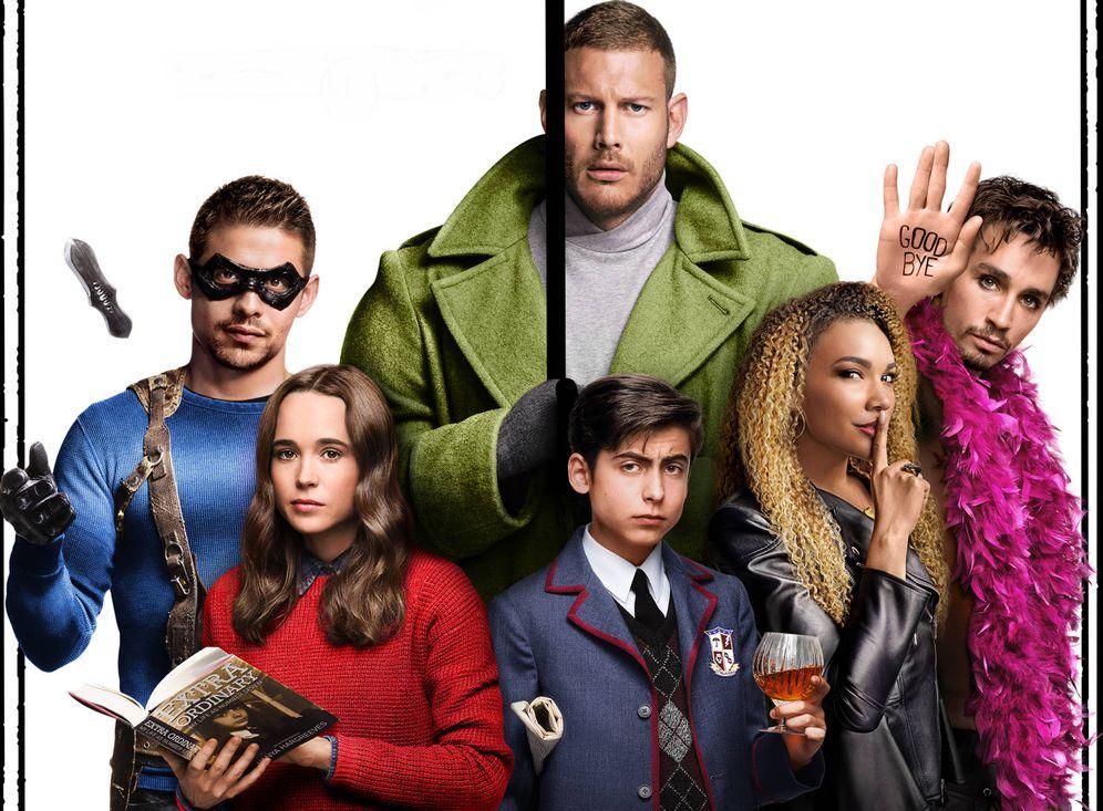 Foto: Imagen promocional de 'The Umbrella Academy'. (Netflix)