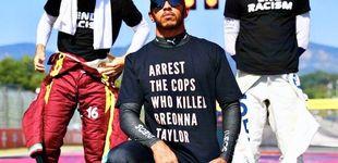 Post de Lewis Hamilton tensa la cuerda: ¿Ha ido demasiado lejos con su última camiseta?