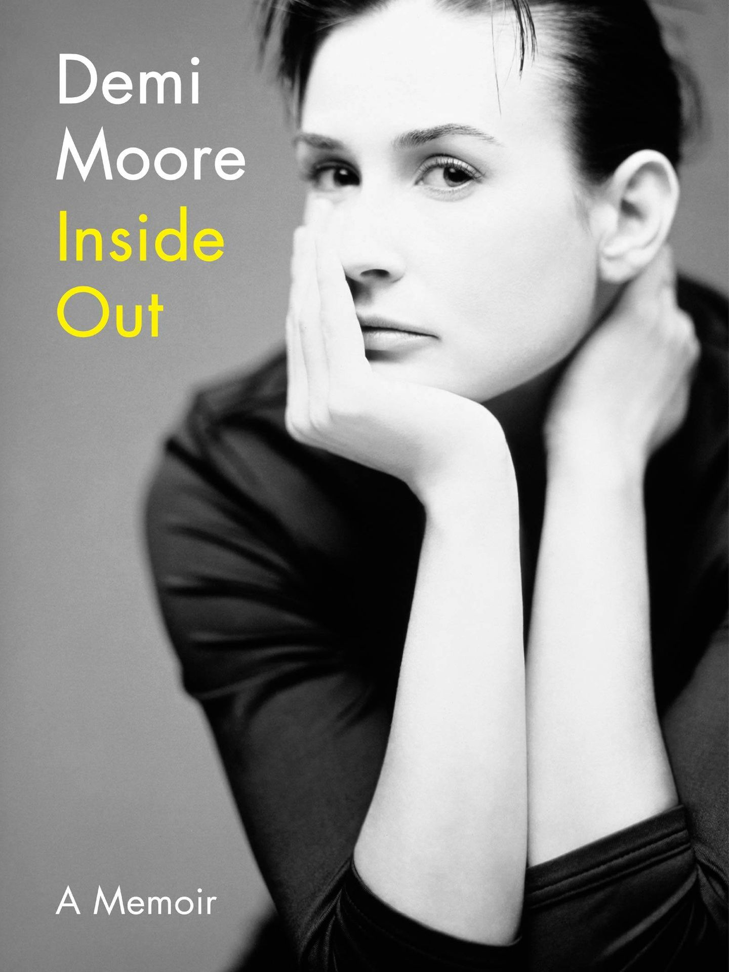 La portada de la autobiografía de Demi Moore.