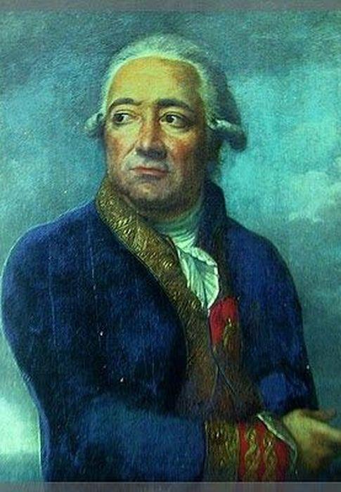 Foto: José de Mazarredo, retratado por Jean François-Marie Bellier.