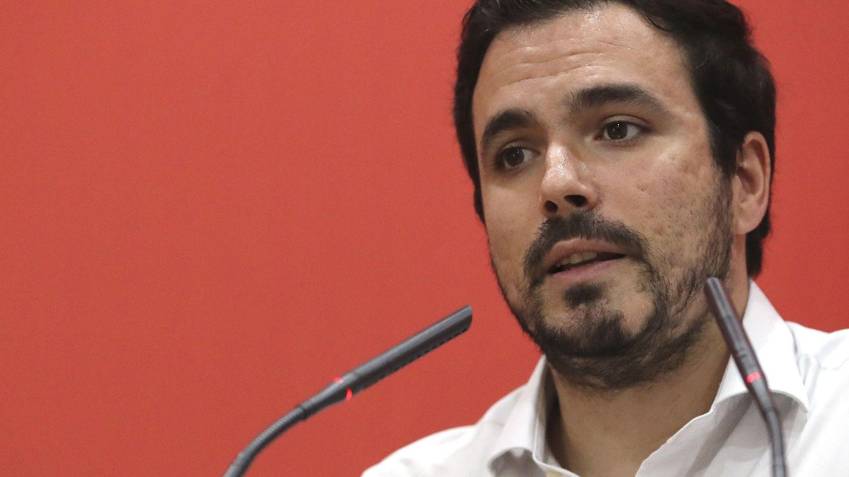 El coordinador federal de Izquierda Unida, Alberto Garzón. (EFE)