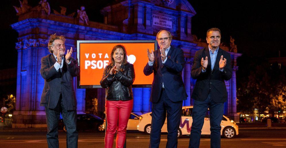 Foto: Inicio de campaña del PSOE en Madrid. (EFE)