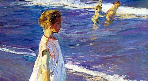 'Niña en la playa', de Sorolla, a subasta por un millón de euros