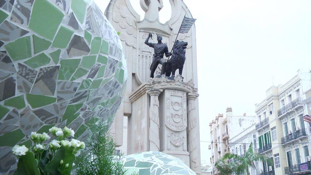 Foto:  Monumento 'Héroes de España' de Melilla. (YouTube)