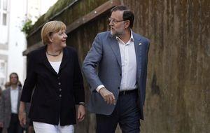 La cena íntima de Mariano Rajoy con Angela Merkel