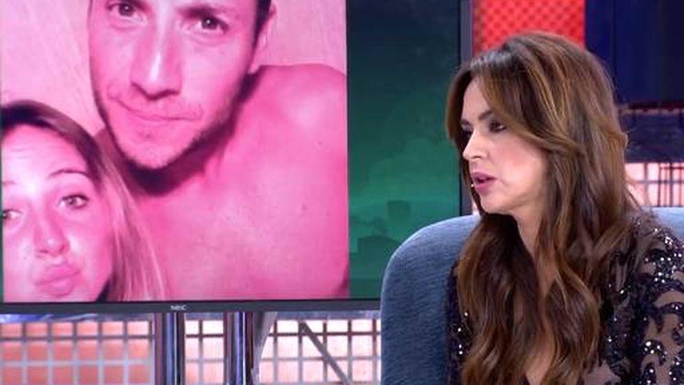 Foto: Olga Moreno en 'Sábado Deluxe'. (Telecinco)