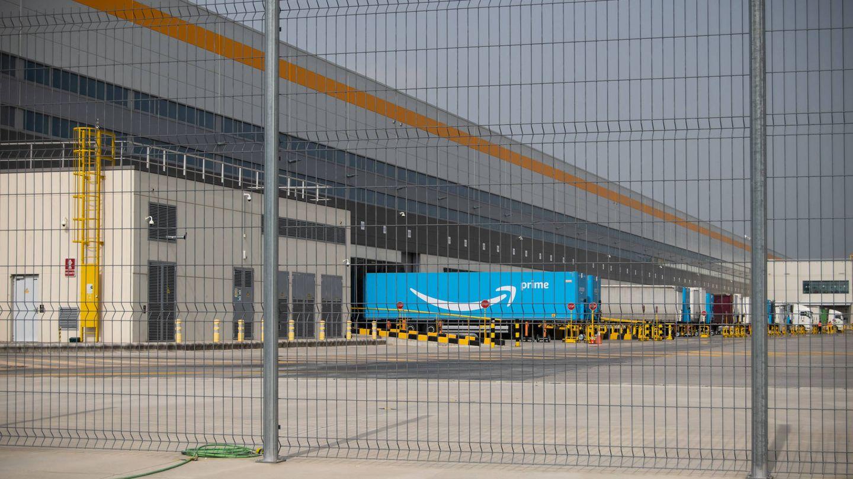 Vista del centro logístico de Amazon en Illescas. (Carmén Castellón)