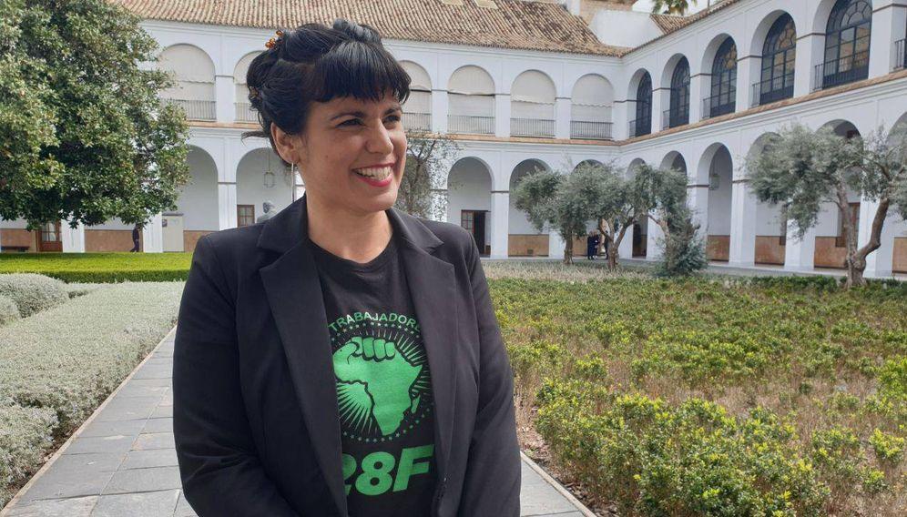 Foto: Teresa Rodríguez. (Foto: Esperanza Fernández)
