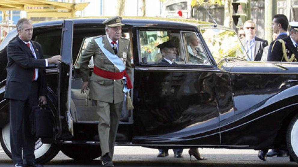 La flota de 70 coches de lujo del Rey Juan Carlos