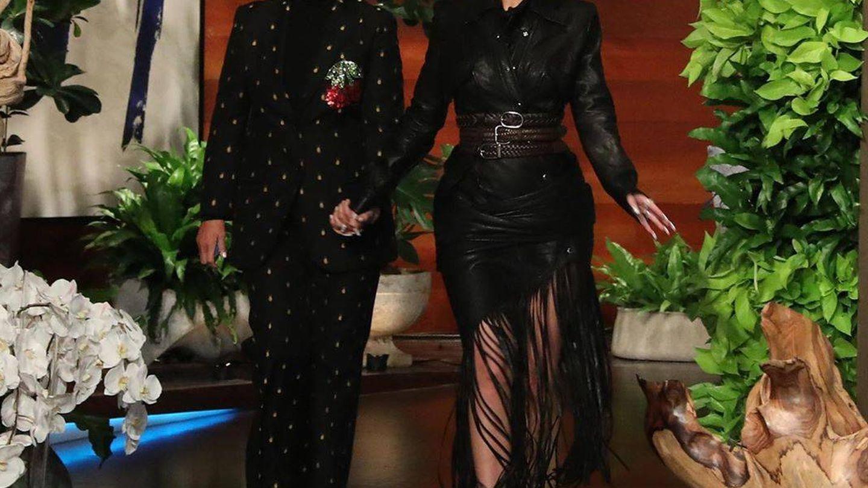 Kylie Jenner y Kris Jenner, en el programa de Ellen. ('The Ellen DeGeneres Show')