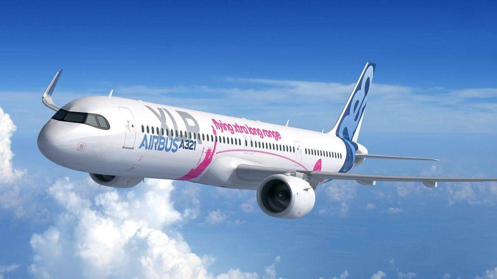 Foto: El modelo A321 XLR. (Airbus)