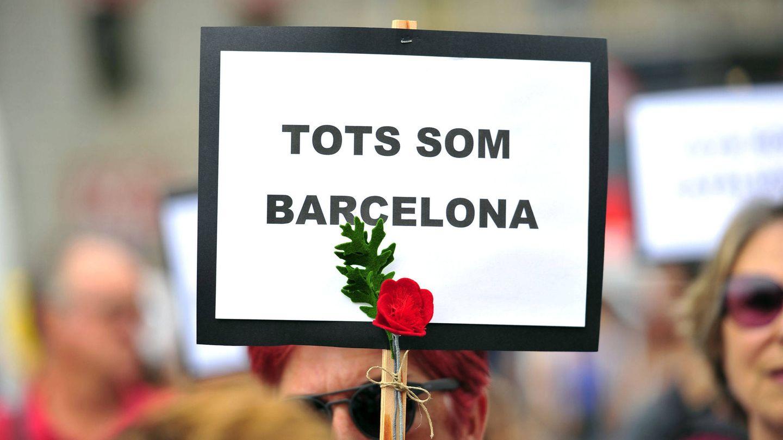 Jornada de duelo tras los atentados de Cataluña en agosto de 2017. (EFE)