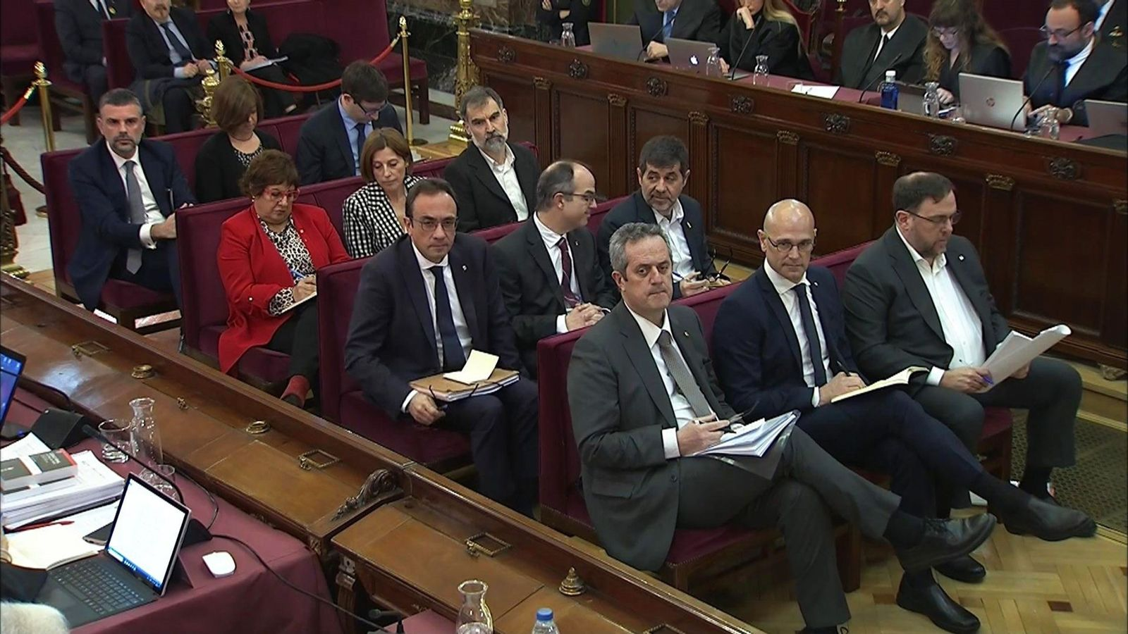 Foto: El banquillo de los acusados. (EFE)