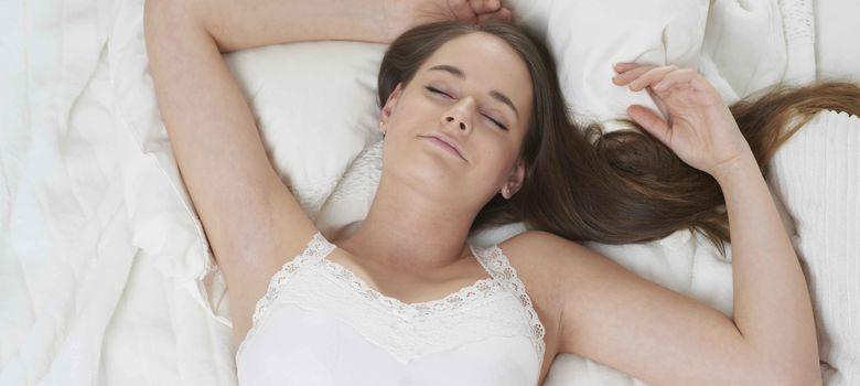 Foto: Los buenos hábitos de sueño contribuyen a guardar la línea. (Corbis)