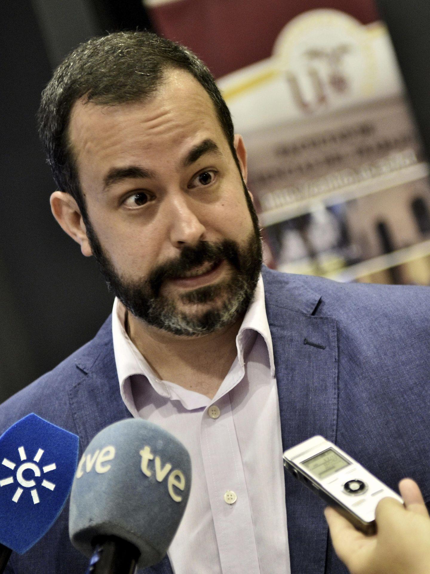 El aspirante Sergio Cebolla. (EFE)