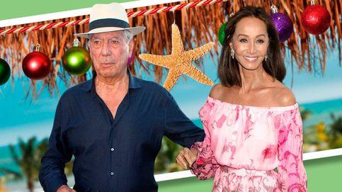 Isabel Preysler y Mario Vargas Llosa, Navidades en Miami con Chabeli