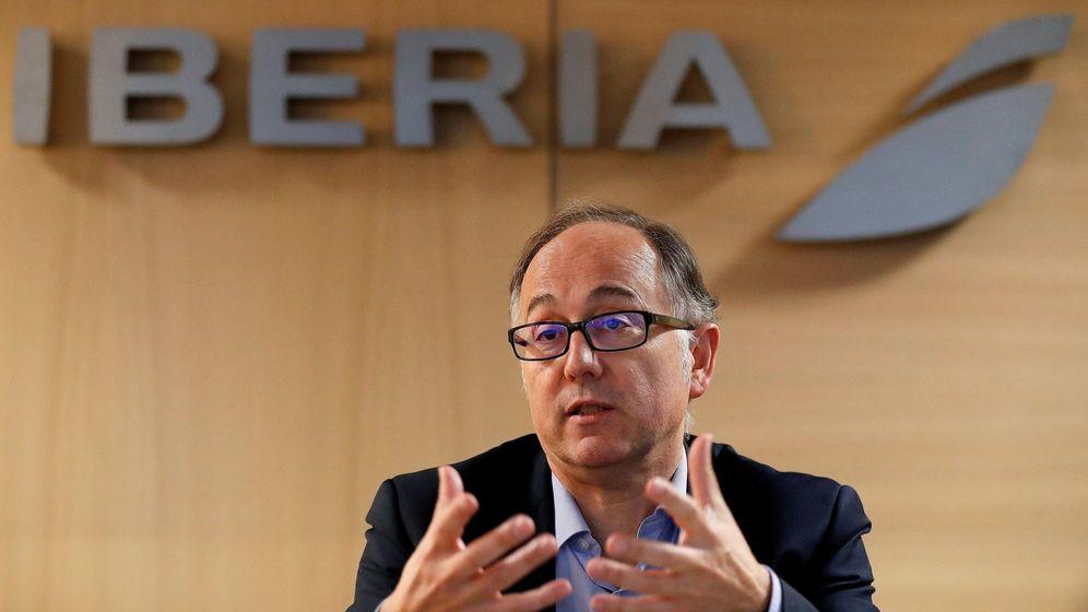 Foto: Luis Gallego, presidente de Iberia. (EFE)