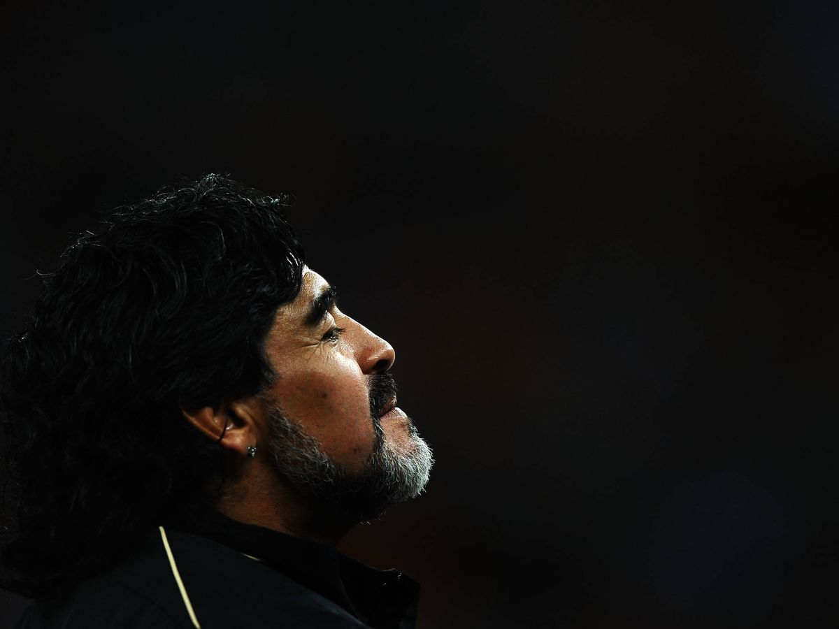 Foto: Maradona. (Getty)