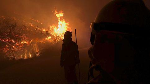 El incendio de Mondariz está controlado y la Xunta cree que ha sido intencionado