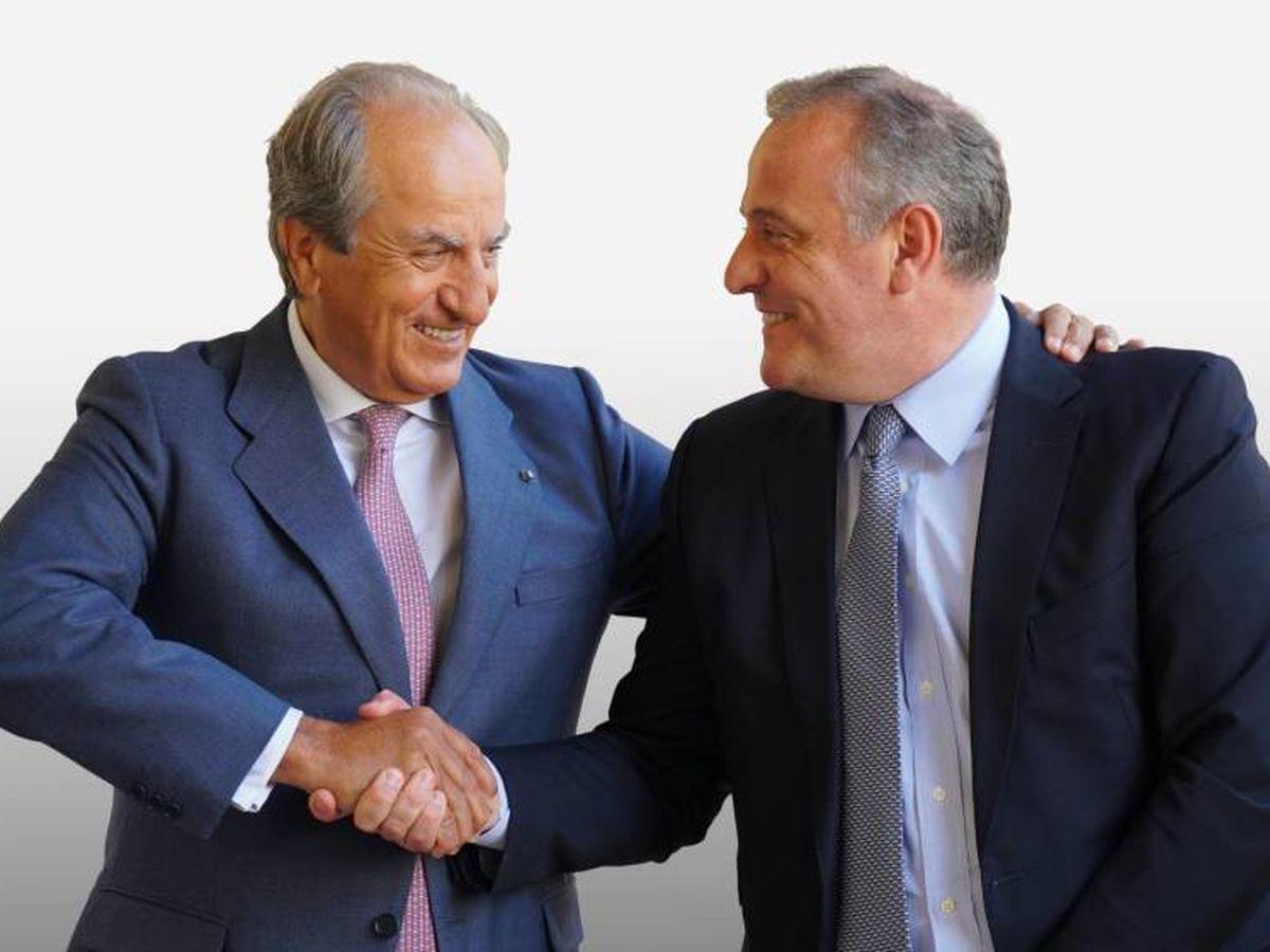 Foto: José Manuel González Serna y Luis Ángel López, presidente y CEO de Cerealto Siro Foods.