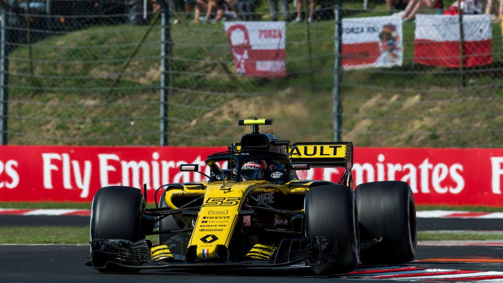 Foto: Sainz no pudo hacer bueno el quinto puesto conseguido en clasificación. (EFE)