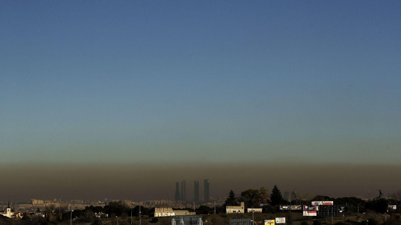 Contaminación en Madrid. (EFE)
