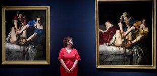Post de La pintura gore y justiciera de Artemisia conmueve Londres