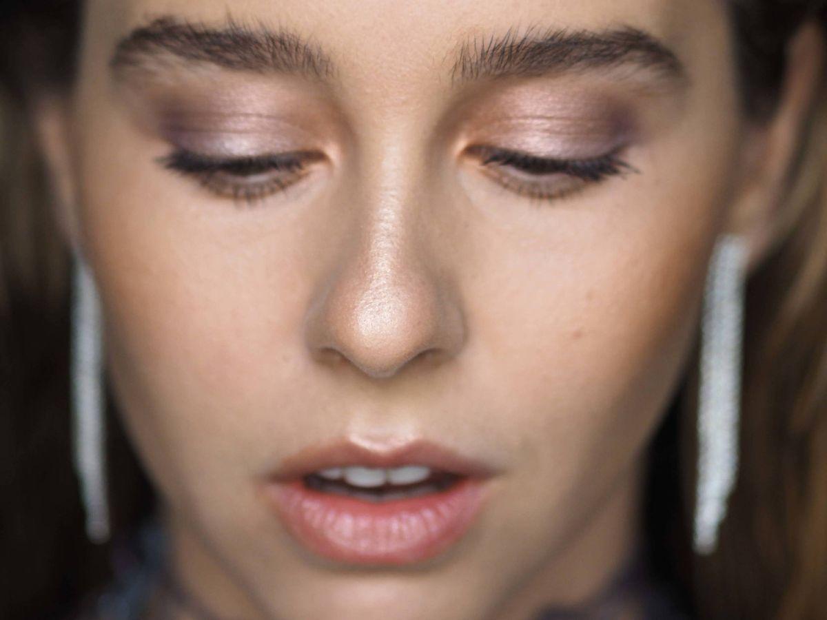 Foto: Paula Usero, en los Goya maquillada por Natalia Belda para Dior. (Cortesía)
